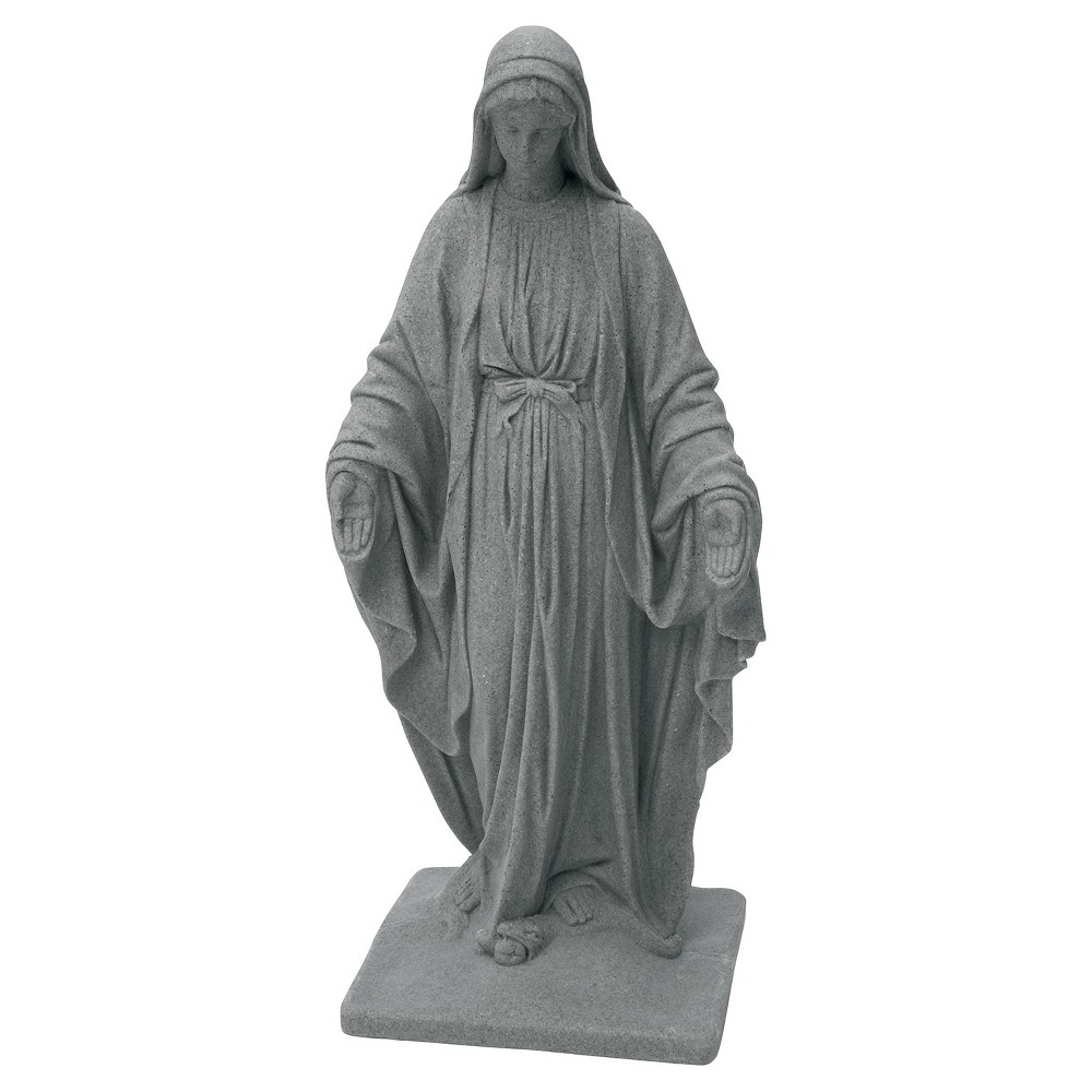 Emsco 34.38 Resin Virgin Mary Statuary - Granite