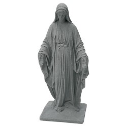 "Emsco 34.38"" Resin Virgin Mary Statuary"