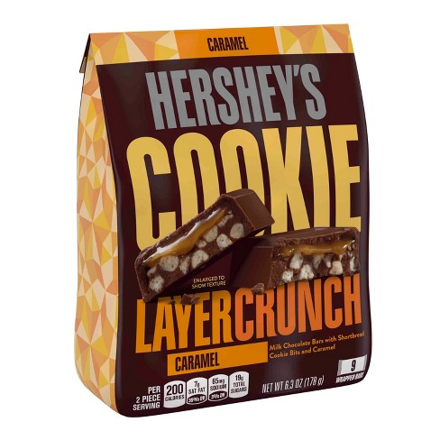 HERSHEY'S Cookie Layer Crunch Caramel - 6.3oz - image 1 of 4