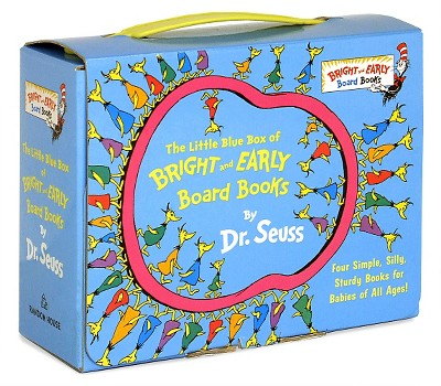 The Little Blue Box of Bright and Early Board Books (Boxed Set)by Dr. Seuss