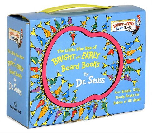 The Little Blue Box of Bright and Early Board Books (Boxed Set) by Dr. Seuss - image 1 of 2
