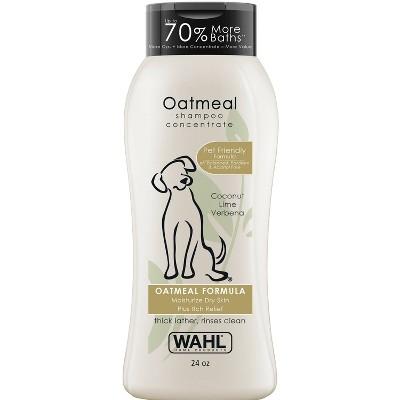 Wahl Oatmeal Formula Coconut Lime Verbena Pet Shampoo Concentrate - 24oz