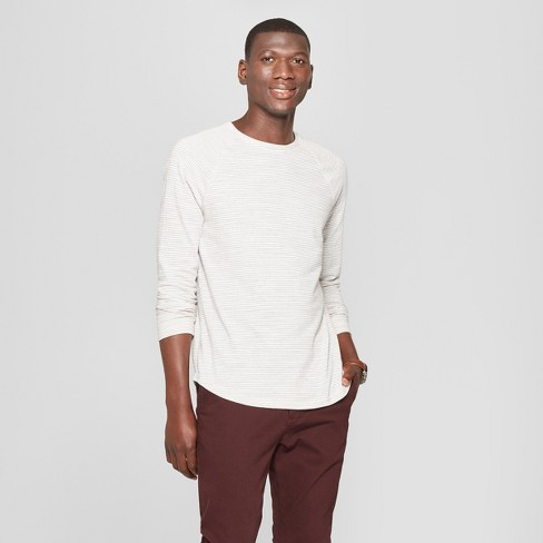 Men's Standard Fit Long Sleeve Baseball T-Shirt - Goodfellow & Co™ - image 1 of 3