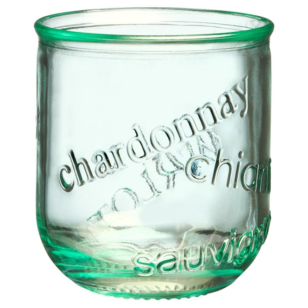 Image of Global Amici Vino Stemless Glass - 12oz Set of 4