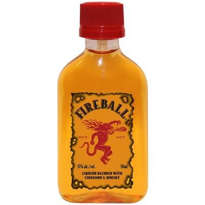 Fireball Cinnamon Whisky - 50ml Plastic Bottle