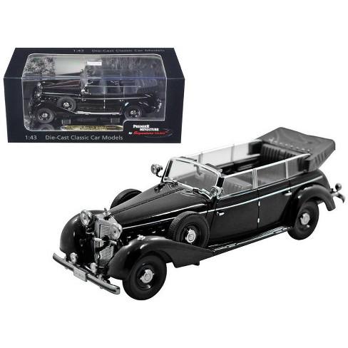 1938 Mercedes 770K Parade Car Black 1/43 Diecast Car Model by Signature Models - image 1 of 1