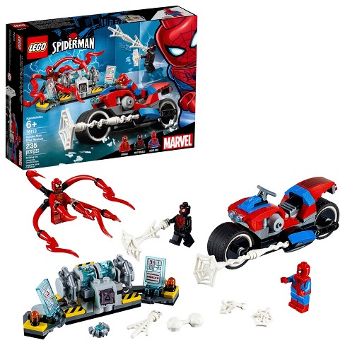 LEGO Super Heroes Marvel Spider-Man Bike Rescue 76113   Target 2cb3521db