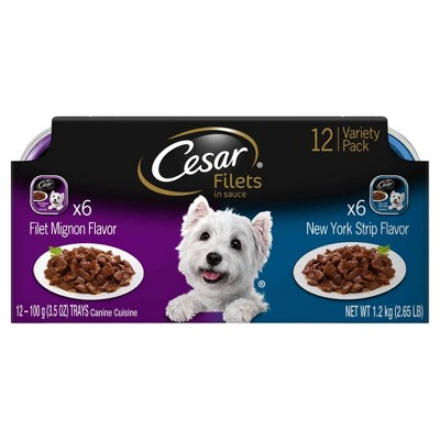 Dog Food: Cesar Classics