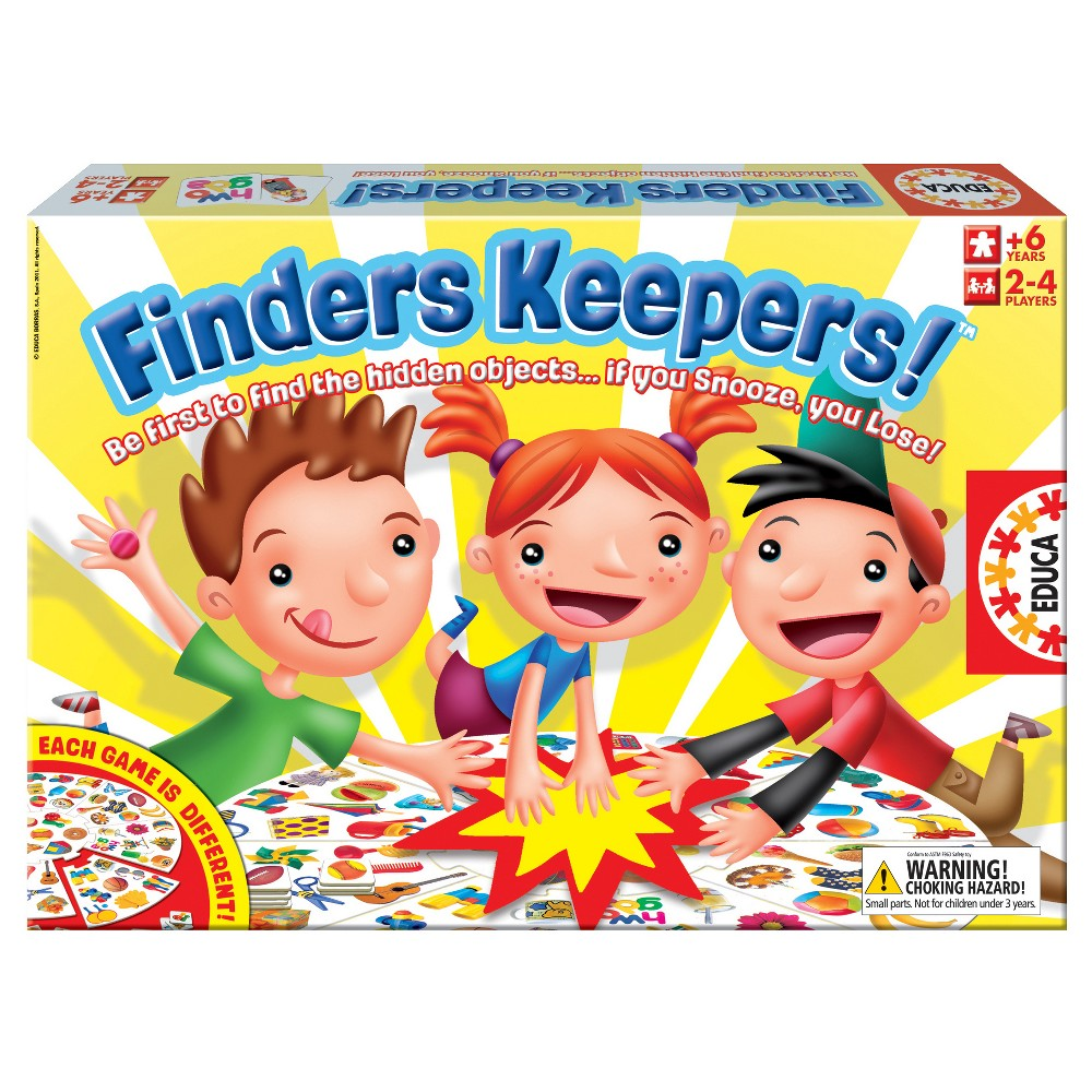 Finders Keepers! Game, Board Games
