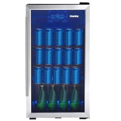 Danby 3.3 cu. Ft. Free-Standing Beverage Center in Stainless