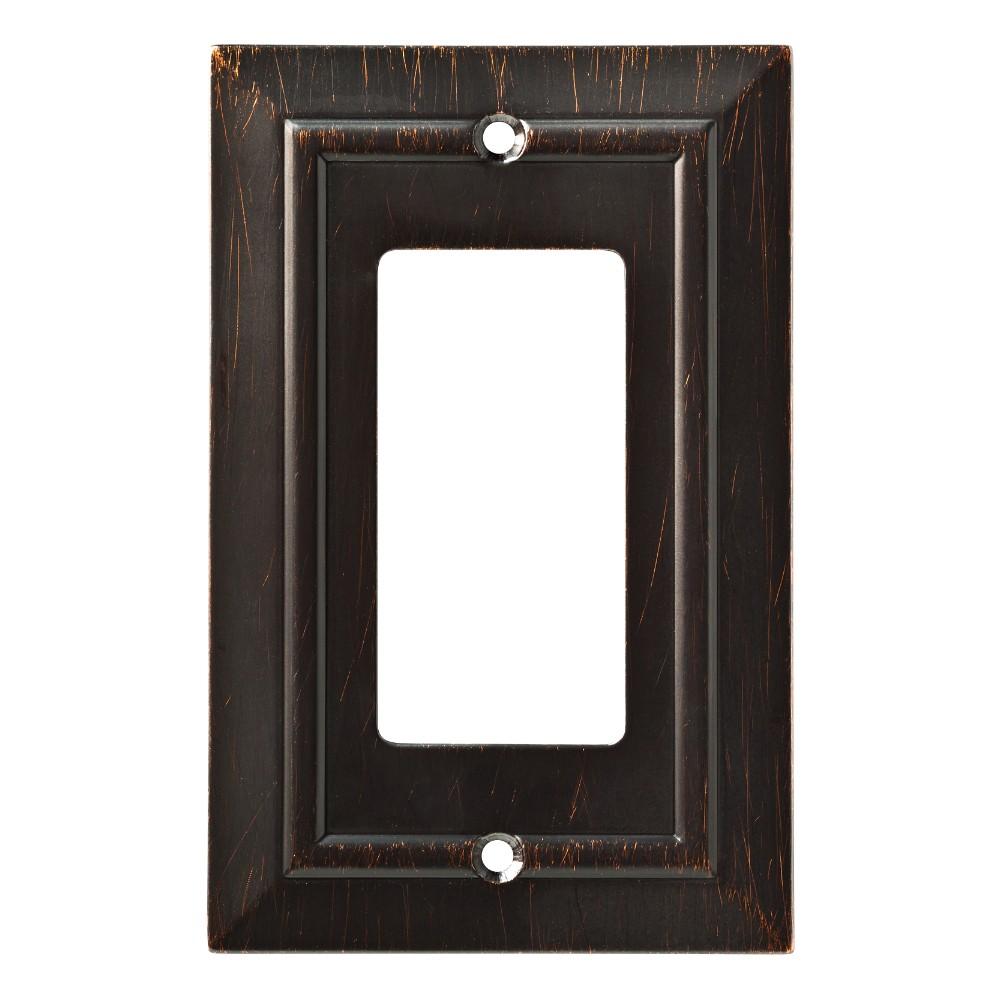 Franklin Brass Classic Architecture Single Decorator Wall Plate Venetian Bronze
