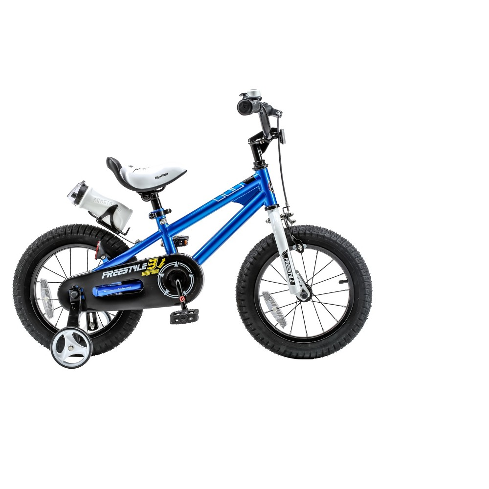 RoyalBaby Freestyle 12 Bike - Blue
