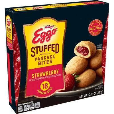 Eggo Frozen Strawberry Stuffed Pancake Bites - 10.2oz
