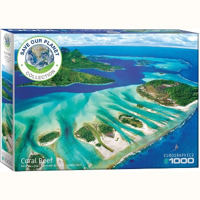 Eurographics Inc. Coral Reef 1000 Piece Jigsaw Puzzle