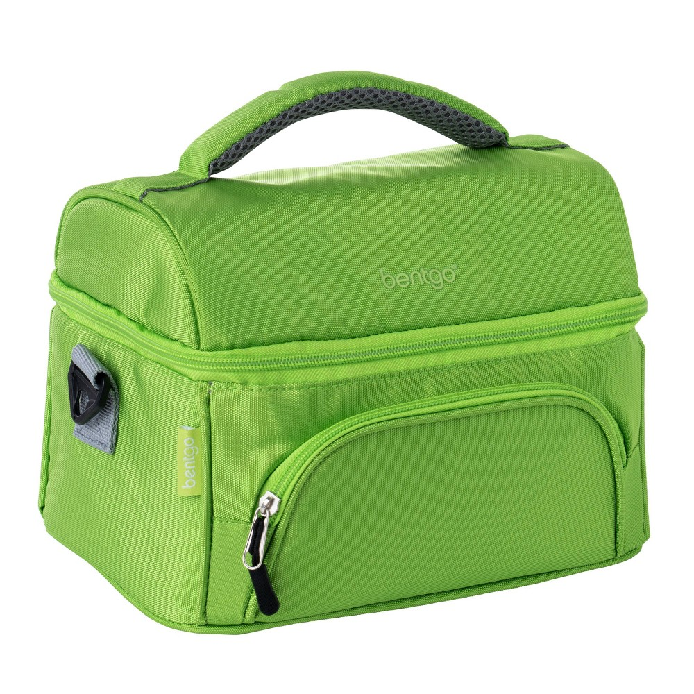 Image of Bentgo Insulated Dual Compartment Lunch Bag - Green