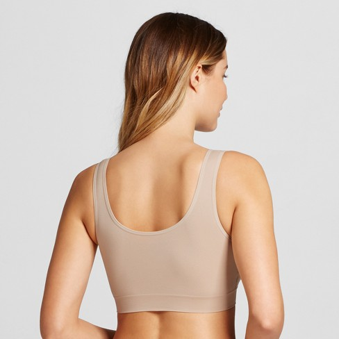 b929b642b3 JKY® By Jockey Women s Seamfree® Tank Strap Bralette- Light Beige XXL    Target