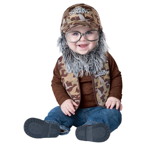 Duck Dynasty Uncle Si Baby Costume - image 1 of 1