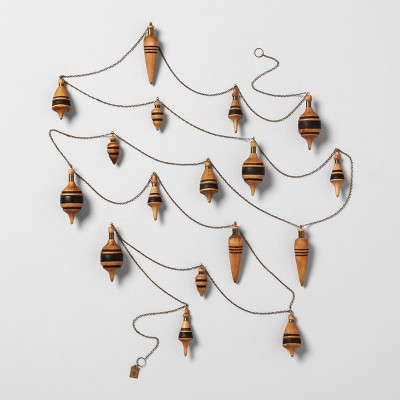 Tree Garland Wooden Plumbobs - Hearth & Hand™ with Magnolia