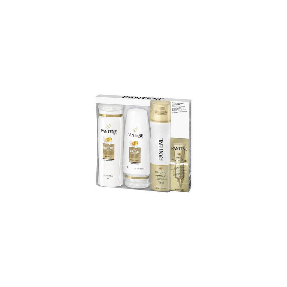 Image of Pantene Daily Moisture Renewal Holiday Pack - 4ct