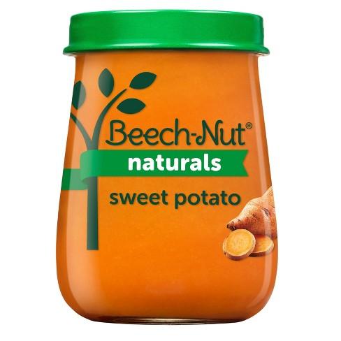 Beech-Nut Naturals Sweet Potatoes Baby Food Jar - 4oz - image 1 of 4