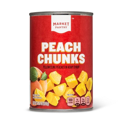 Peach Chunks - 15.5oz - Market Pantry™