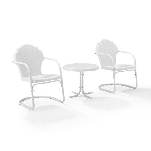 Tulip 3pc Metal Conversation Seating Set - Crosley - image 1 of 4