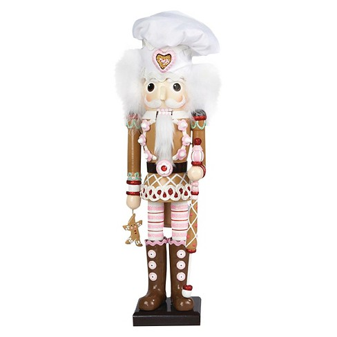 "Hollywood Gingerbread Nutcracker 17"" - image 1 of 1"