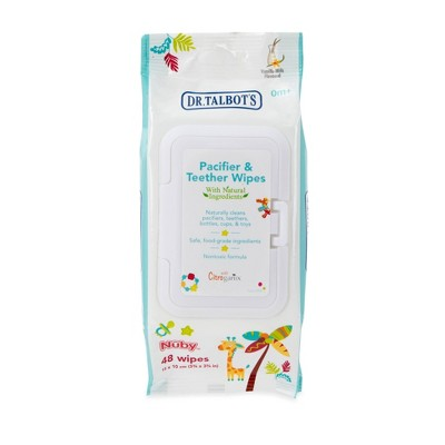 Nuby Pacifier Wipes - 48ct