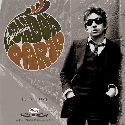 Serge gainsbourg - Gainsbourg london paris (CD) - image 1 of 1