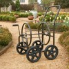 Liberty Garden Products 4 Wheel Residential Hose Reel Cart Holds Up to 250 Feet - image 3 of 4