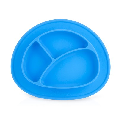 Nuby Oval Sectioned feeding mat - Blue