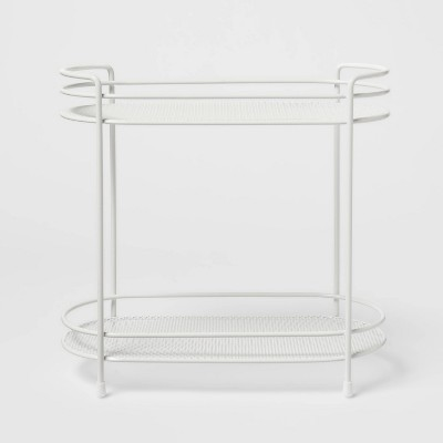 Two Tier Oval Shelf Mesh White - Threshold™