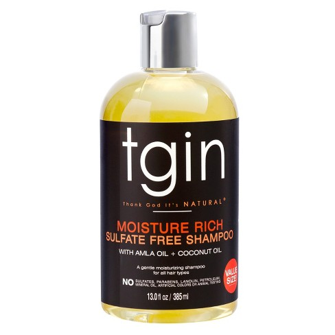Tgin Moisture Rich Sulfate Free Shampoo For Natural Hair With Amla Oil And Coconut 13 Fl Oz Target