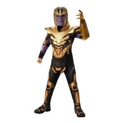 Boys' Marvel Thanos Deluxe Muscle Halloween Costume