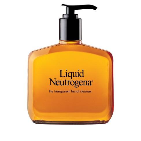 Unscented Liquid Neutrogena Fragrance-Free Mild Facial Cleanser - 8 fl oz - image 1 of 4