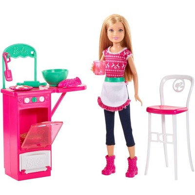 Barbie Sisters' Baking Fun and Doll Playset