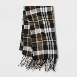 Men's Plaid Woven Scarf - Goodfellow & Co™
