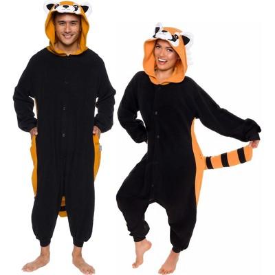 Funziez! Red Panda Adult Unisex Novelty Union Suit
