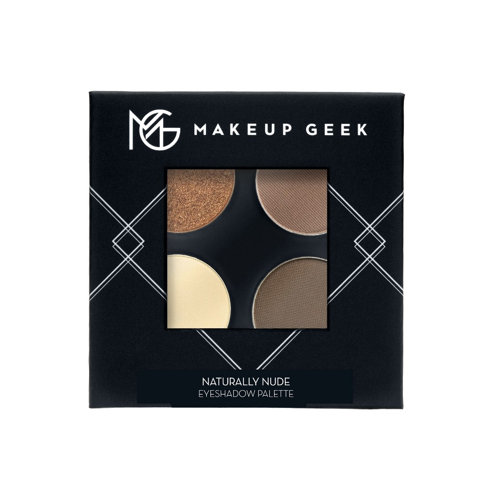 Makeup Geek Eyeshadow Palette Naturally Nude - 4ct