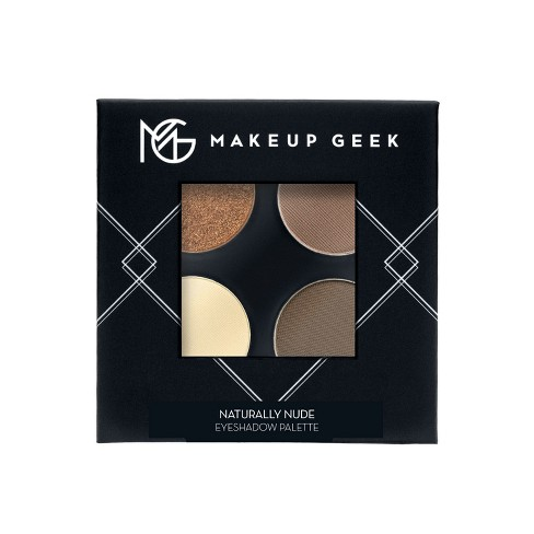 Makeup Geek Eyeshadow Palette Four Full Size Pans Naturally Nude Nude/Brown - 7.2g - image 1 of 4