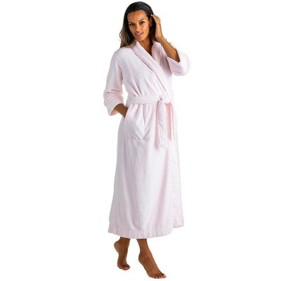 Softies Women's Drop Needle Cloud Fleece Robe