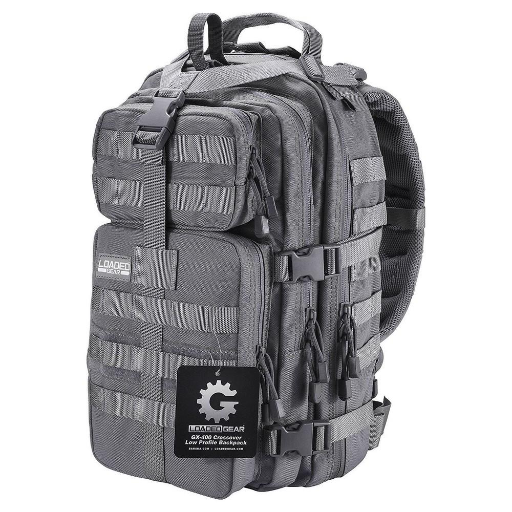 Barska GX-400 Crossover Low Profile Backpack - Gray