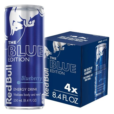 Red Bull Blueberry Energy Drink - 4pk/8.4 fl oz Cans