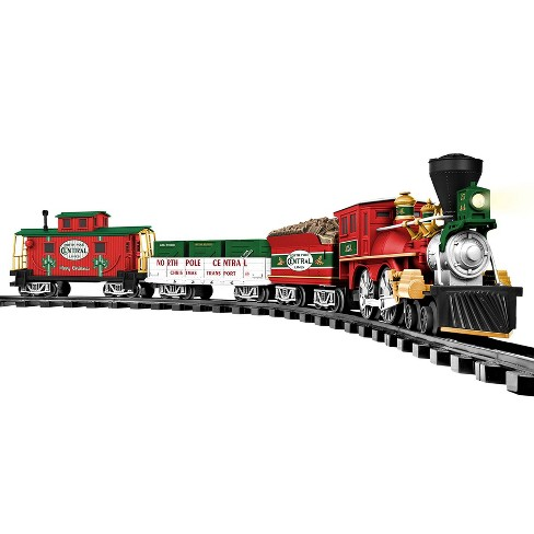 Lionel Trains North Pole Central Ready to Play Battery Power Christmas Train Set - image 1 of 4