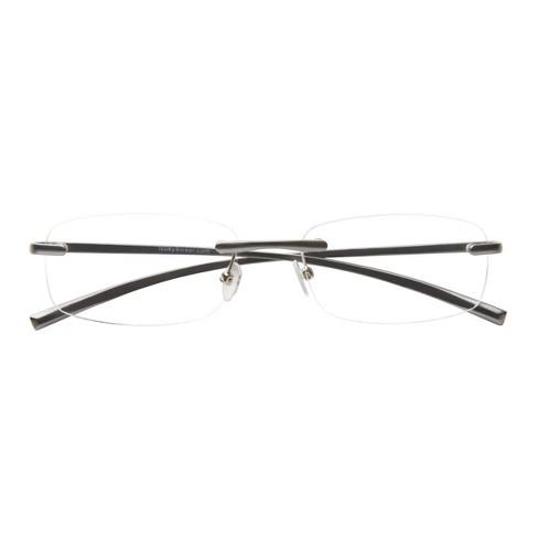 ICU Eyewear San Jose Rimless Reading Glasses  - image 1 of 4