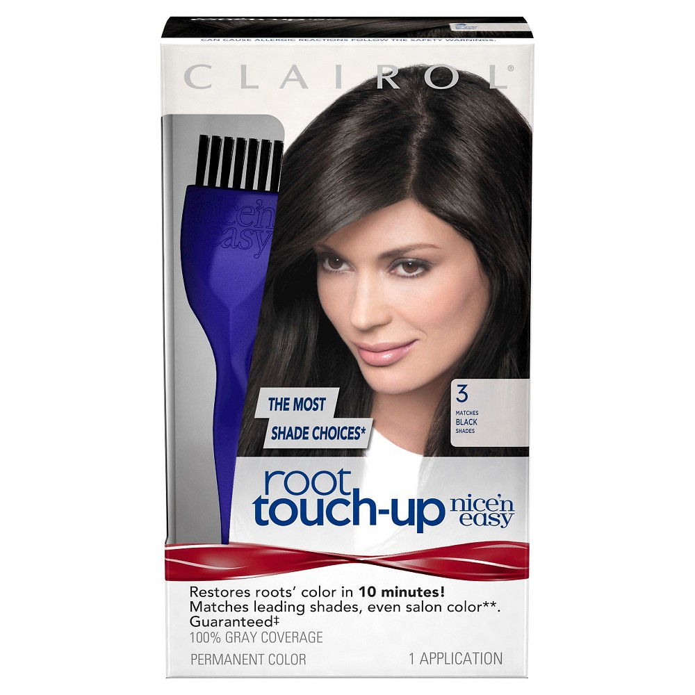 Nice 'n Easy Clairol Root Touch-Up - 3 Black - 1 Kit, Black-3