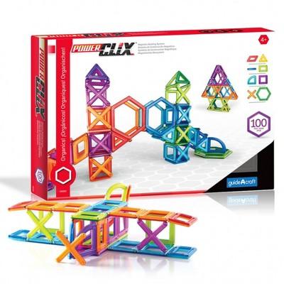 Guidecraft PowerClix Frames Education Set  - 100 Pieces