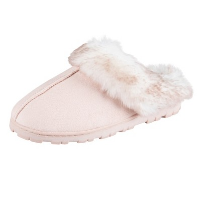 Jessica Simpson Women's Micro-Suede Clog Slipper