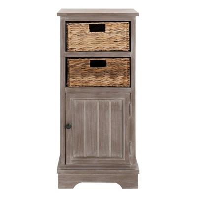 Crabbe Storage Cabinet Vintage - Safavieh