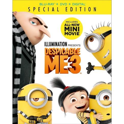 Despicable Me 3 (Blu-ray + DVD + Digital)